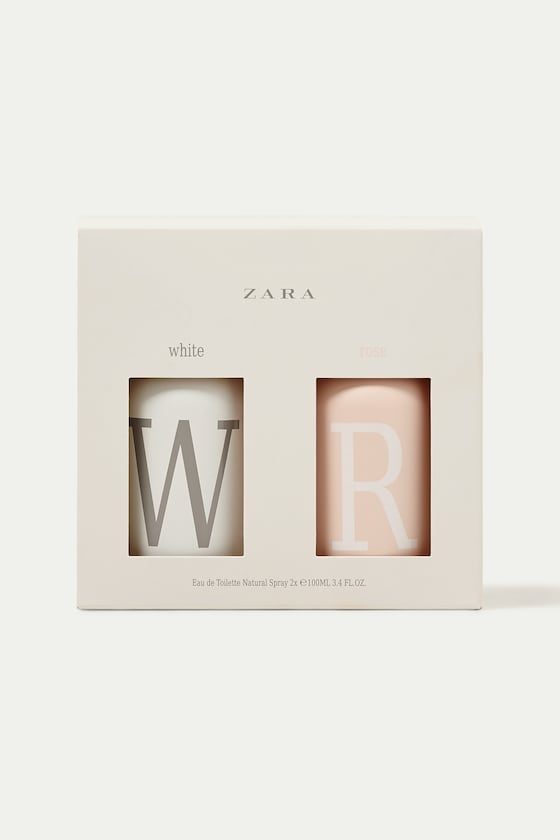 ZARA ROSE EDT 100 ML + ZARA WHITE EDT 100 ML