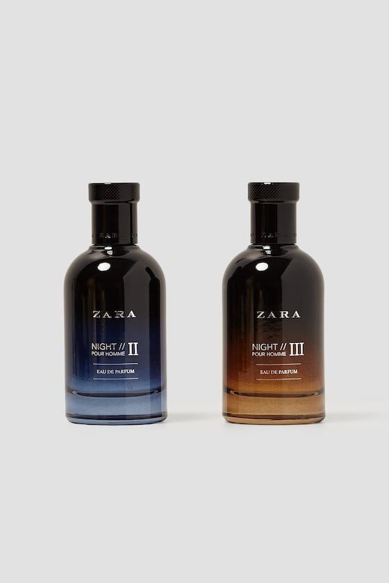 NIGHT POUR HOMME II + NIGHT POUR HOMME III 100 ML